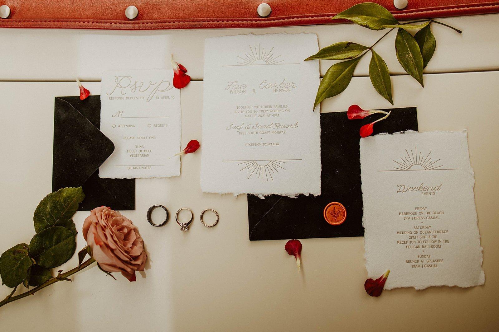 Fae Wedding Invites